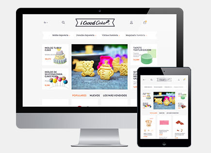 iGoodCake e-commerce