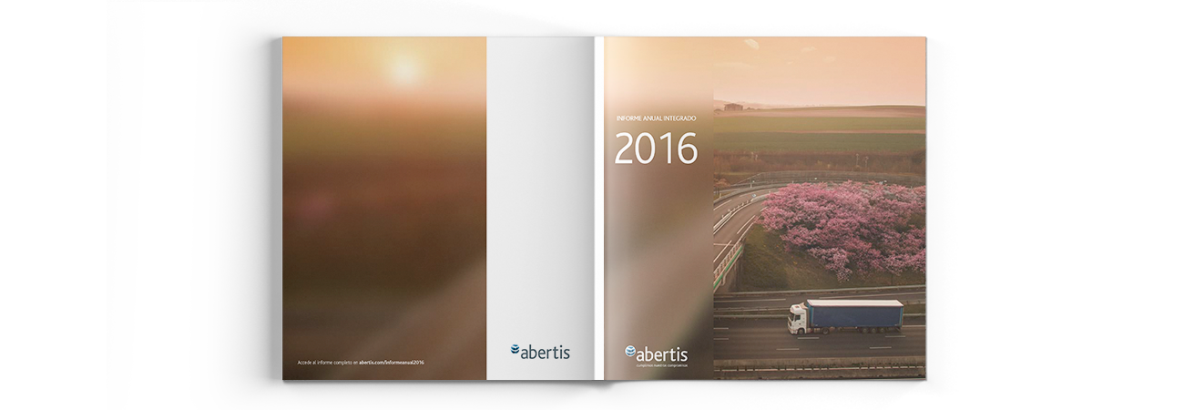 Abertis Annual Integrated Report and Website